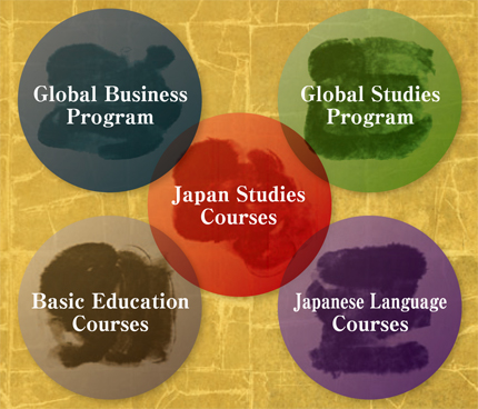 Diagram of AIU programs and courses
