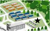 Sakura and University Villages Laundry Facility Map