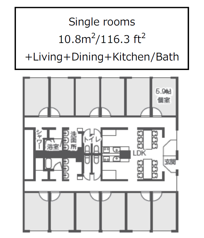 New-apartment layout