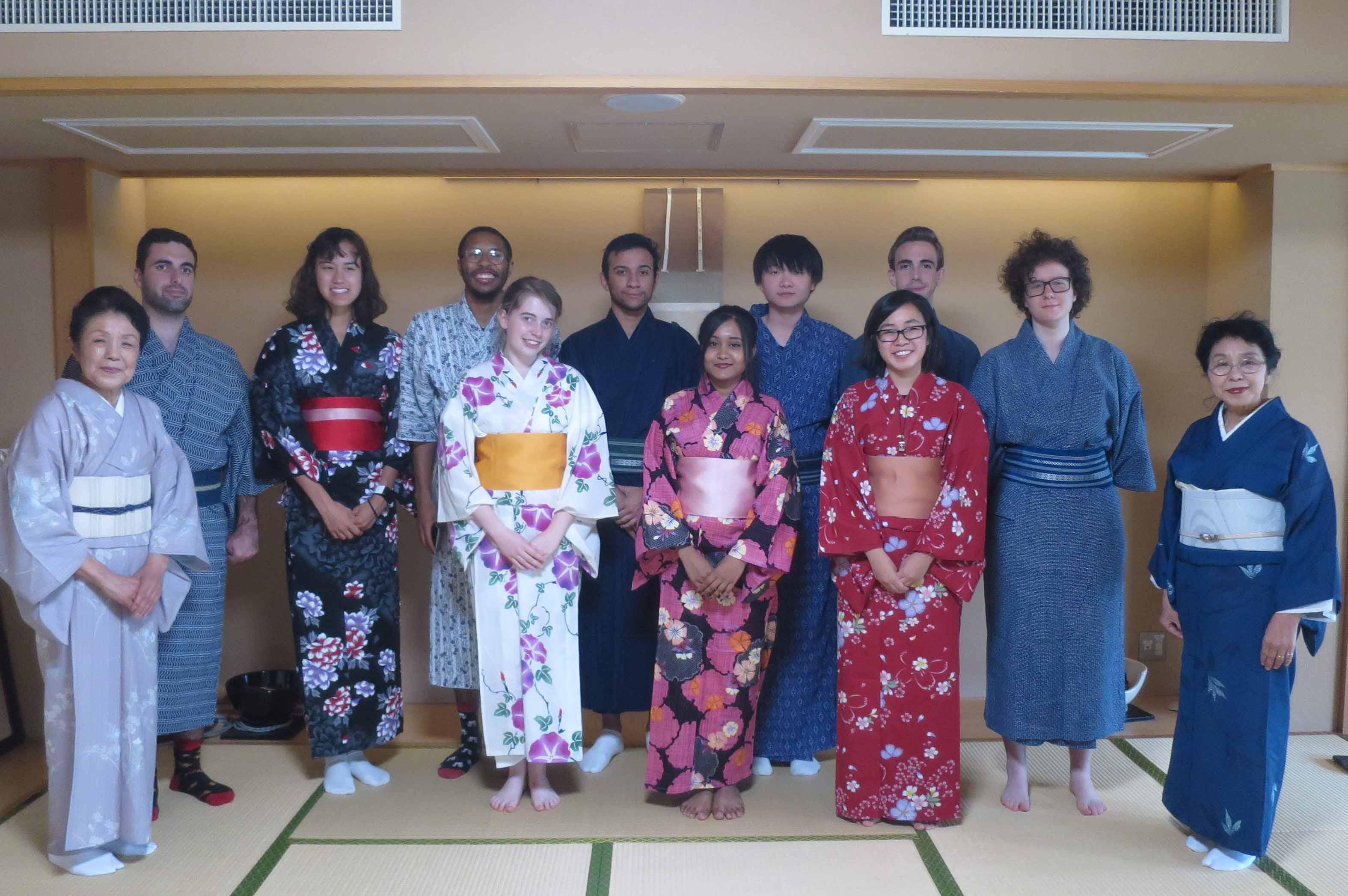 Picture of Kimono-wearing