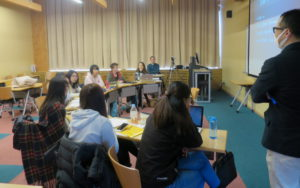 Picture of classroom winter program Japanese Language and Cultural Immersion Program Advanced