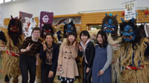 Picture of Namahage in Akita International University