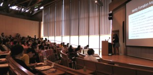 A team of students from Akita International University and the University of California Berkeley present their findings