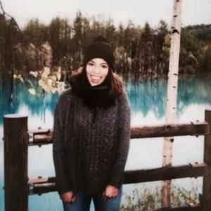 Hokkaido blue pond