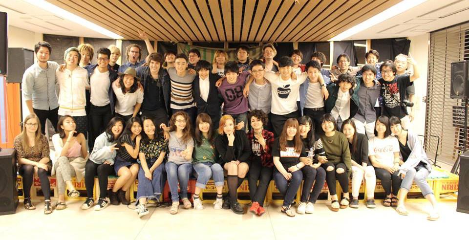 AIU rock band student hall