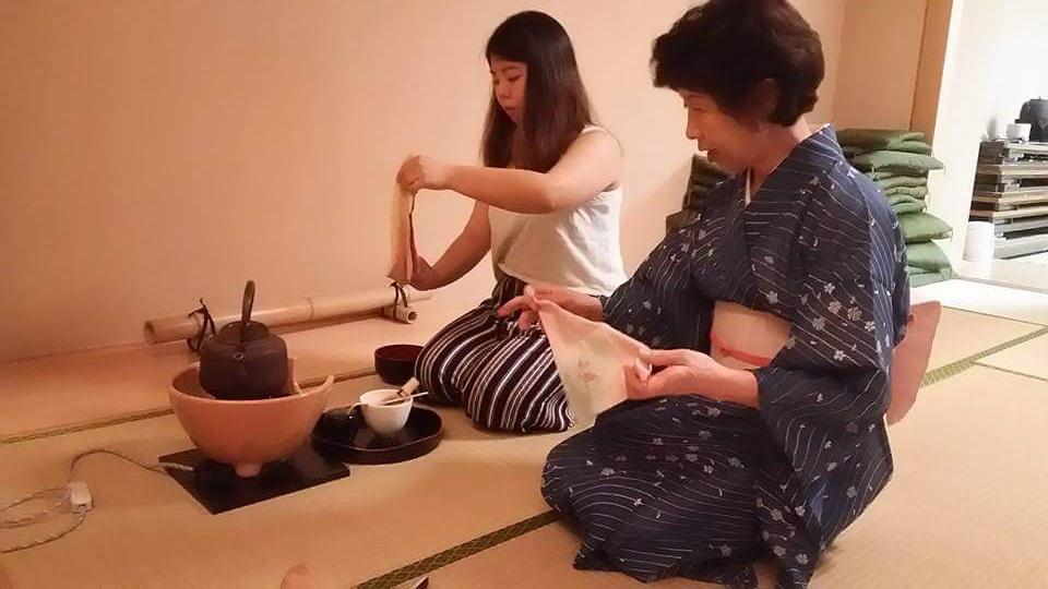Tea Ceremony Club Akita International University