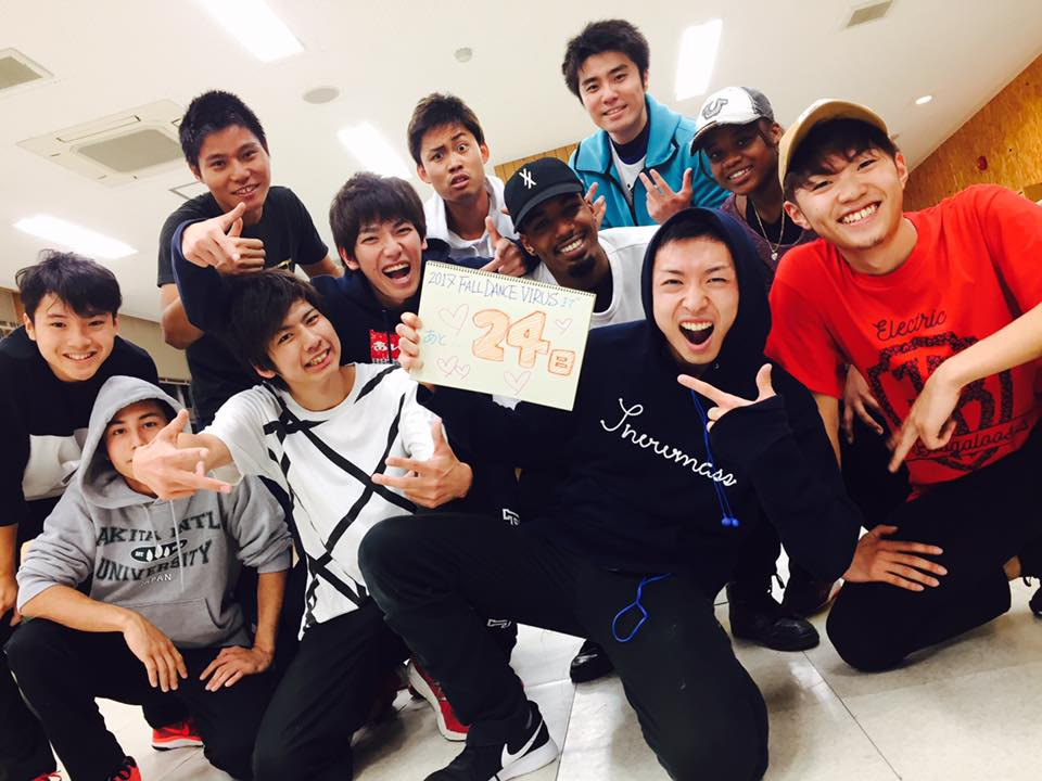 Tony Stewart University of Mount Union at Akita International University breakdance club