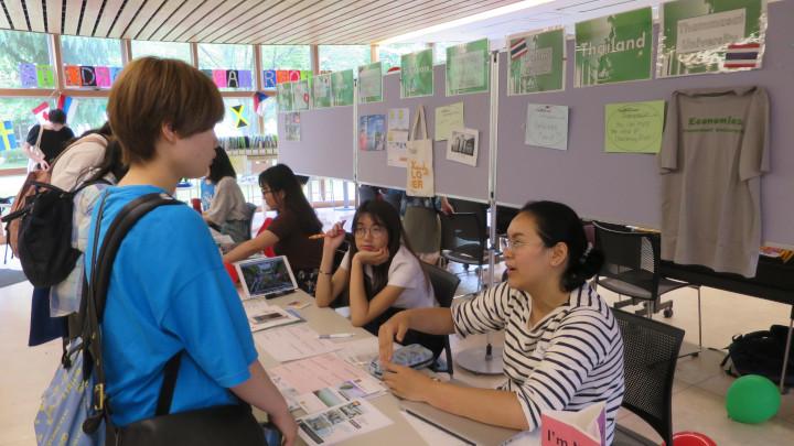 Akita International University Study Abroad Fair Thammasat University Kasetsart University