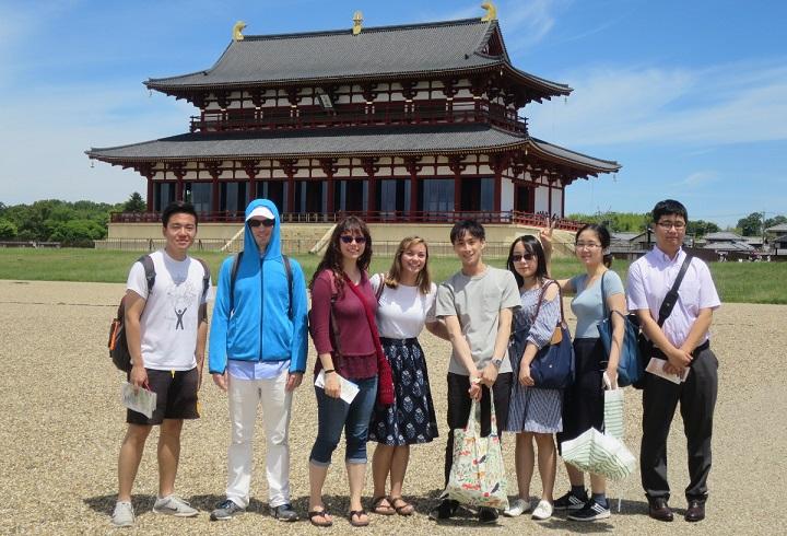 AIU students at Heijo-kyo