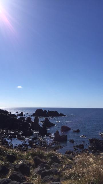 Cape Nyudozaki and Sea of Japan Akita International University Bus Tour