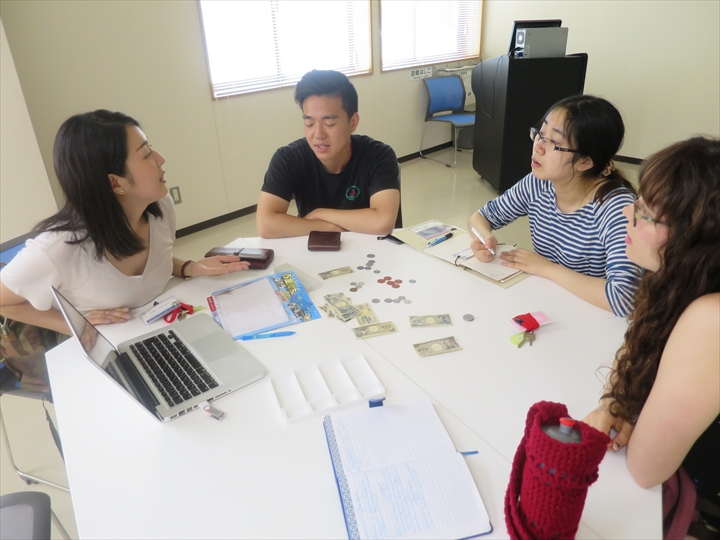 Picture of a Survival Japanese language instruction session