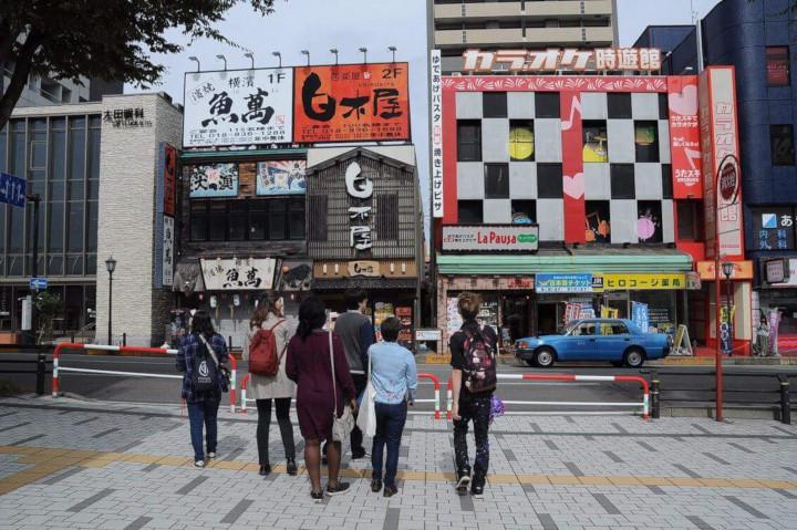 Akita Station area izakaya and karaoke