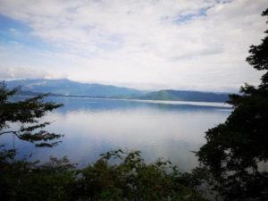 lake tazawa landscape