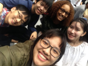 Akita International University exchange students AIU festival