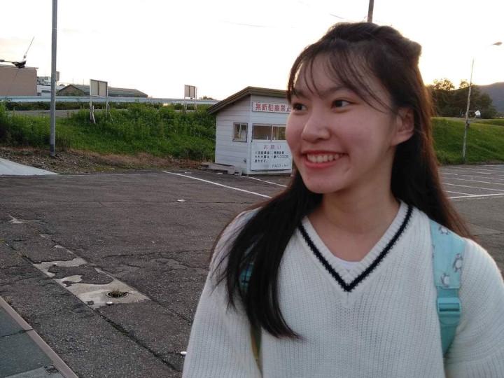 Akita international university exchange student at Omagari Fireworks Competition