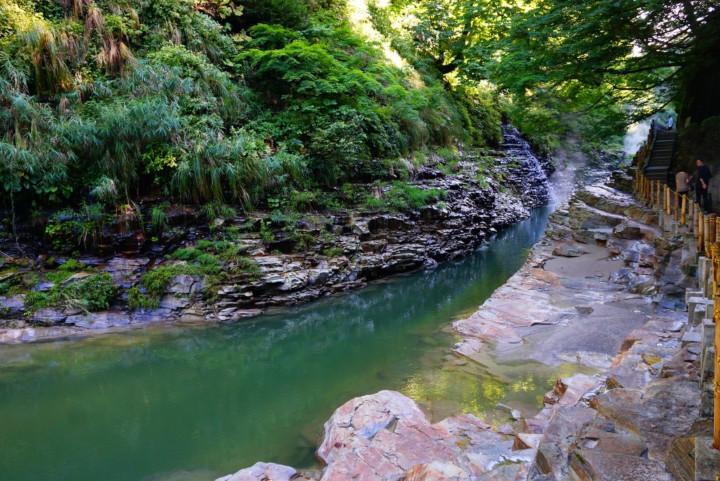 river running through Oyaskyō