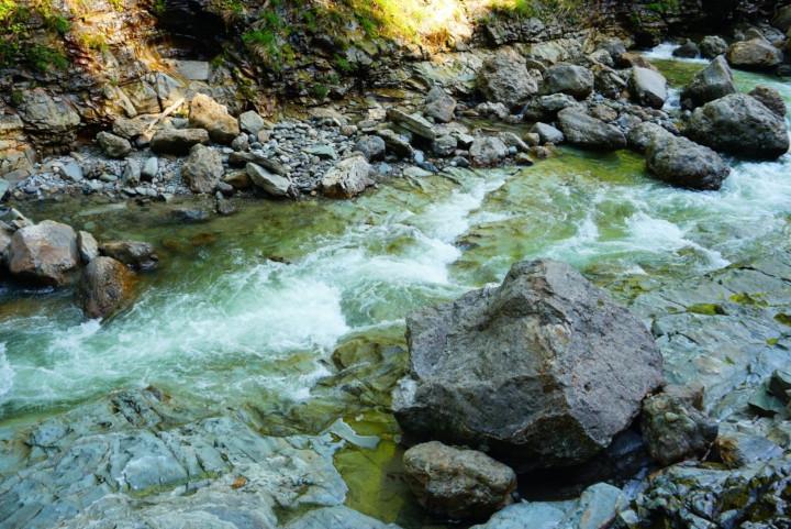 rapids in Oyasukyō