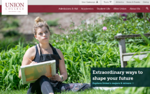 website image of union college
