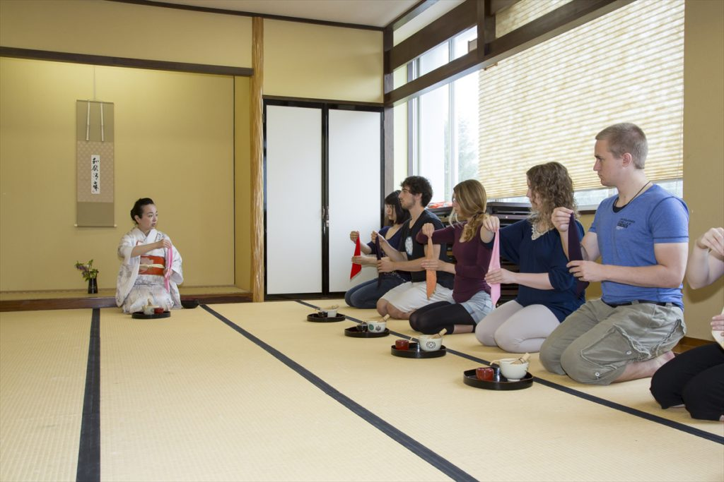 Photo of Traditional Japanese Arts class