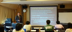 Georgetown University(米国)の教員による特別講義