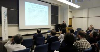 本学教員によるUniversity of Calfornia-Berkeleyでのスピーチ