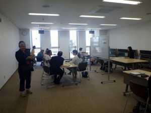 Visit to the Japanese language school in Yokote City
