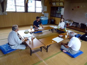 Meeting in the Tenjin community