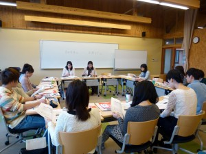 Lecture by officials at Akita Prefectural Government (October 20, 2014)