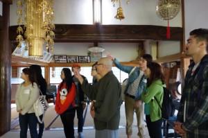 鷲泉寺の見学