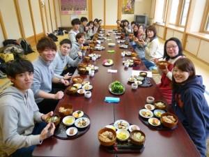 Meeting over the Saimyoji chestnut lunch