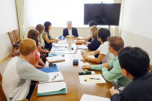 Interview with President Suzuki of AIU