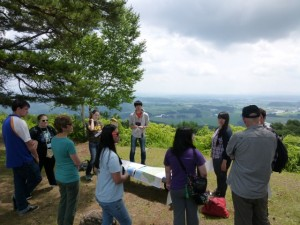 高尾山で観察法の学習