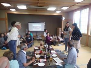 赤田集落の交流会
