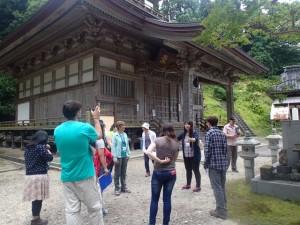 長谷寺の視察