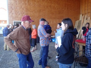 Exchange party with Wallowa local residents (June 19)