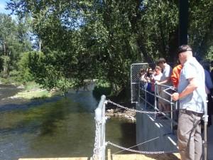 漁業資源保全事業の視察