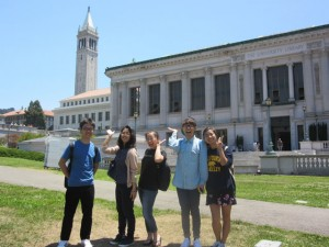 AIU students at UC Berkeley