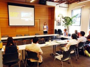 オレゴン大学Sports Product Instituteを訪問