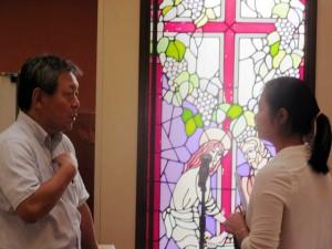 At the Korean Christian Church in Kawasaki, Japan
