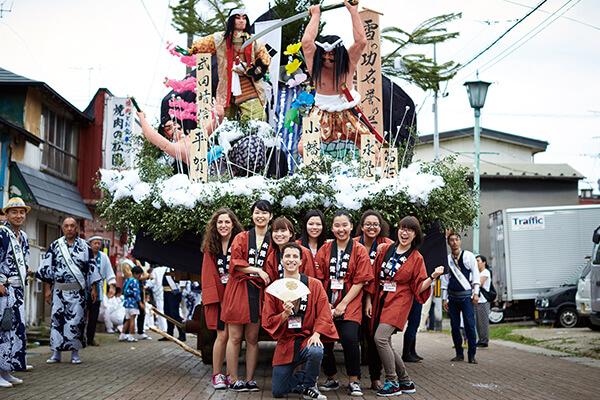 画像:土崎港曳山祭り(秋田市土崎)
