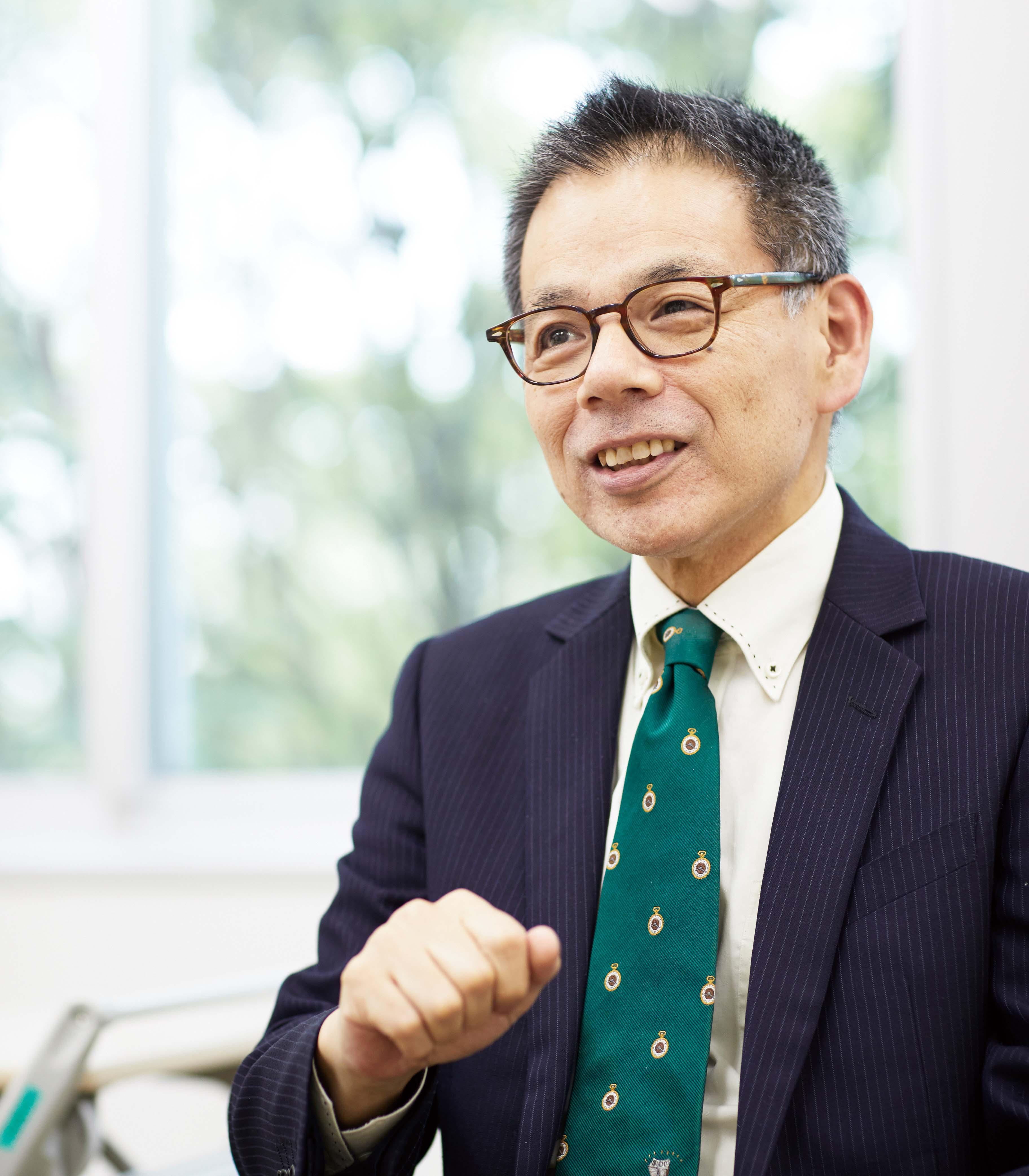 内田 浩樹グローバルコミュニケーション実践研究科長の写真