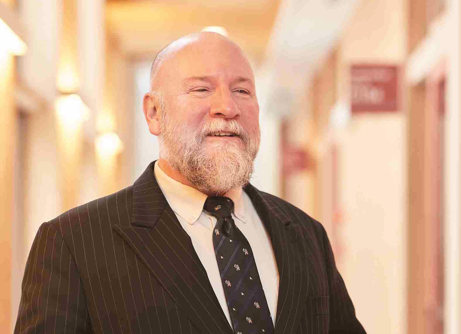 パトリック・ドーティ英語集中プログラム・外国語教育代表の写真