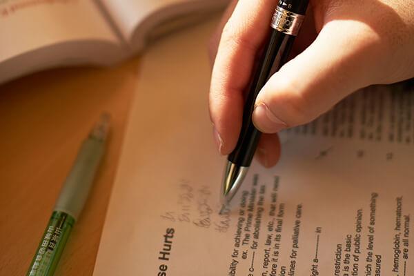 入学試験のイメージ写真