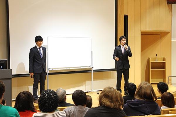student's presentation