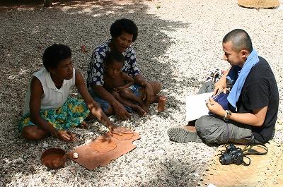 パプア・ニューギニアでの写真
