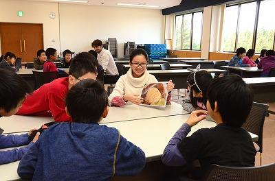 留学生と交流の様子2