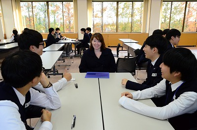 ソウル高校生徒との交流活動