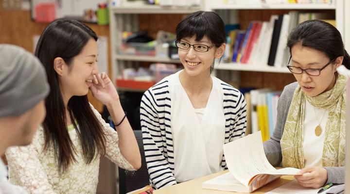 日本語教育実践領域学生イメージ