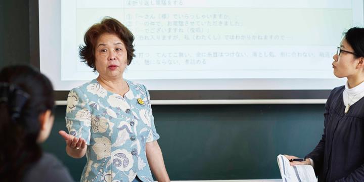日本語教育実践領域授業風景