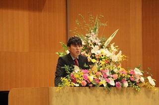 新学部生代表 三浦佑弥